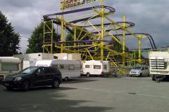 09.09.2014 - der Spinning Coaster wächst täglich...