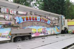 10.09.2014 - noch nicht zu erkennen: Kinderkarussell Truck Stop