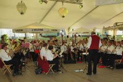 Musikalische Untermalung vom Musikverein Müschede