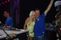 Mia Julia mit DJ Sven