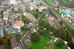 Bereich hinter der St. Petri-Kirche - Luftbild Jochen Krutmann