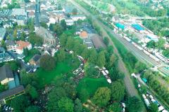 Kirmesplatz und Tierschau-Gelände - Luftbild Jochen Krutmann