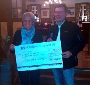 Arnsberger Tafel erhält 800 €