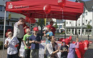 Ballon-Wettflug-Wettbewerb 2015