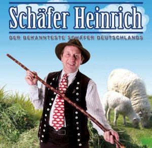 Schäfer Heinrich wird am Montagvormittag auf der Tierschau und nachmittags im Zelt sein.