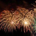 Feuerwerk auf der Hüstener Kirmes