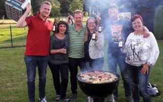 Let's Party – Gewinner feierten Grillfest